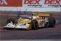 Signed Hunter-Reay, Ryan 8x12 Photo (Can be cut down to make an 8x10) autographed
