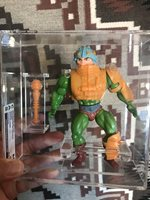 Motu Loose Graded Man-At-Arms Masters Of The Universe CAS 80