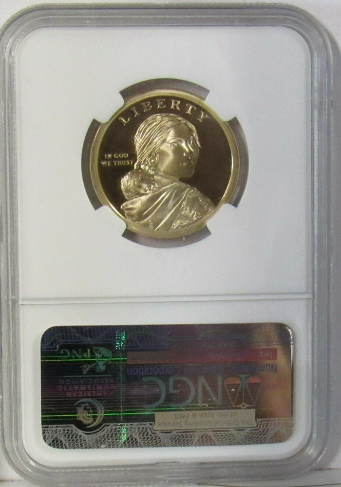 NGC PF-69 Ultra Cameo *PRICE FOR ONE COIN ONLY* 2001-S Sacagawea Dollar Coin