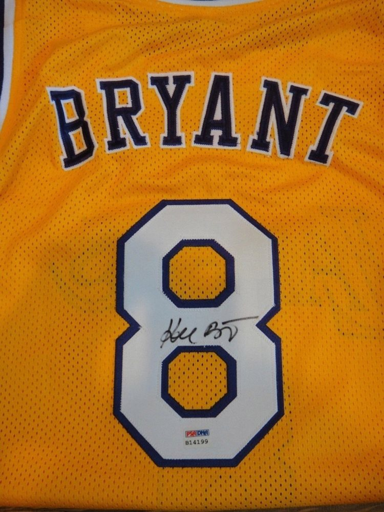 7c02aedfee1 Kobe Bryant Autographed Signed Memorabilia PSA DNA Certified Los Angeles  Lakers 8 Home Jersey AutographCUSTOM. Click To Enlarge