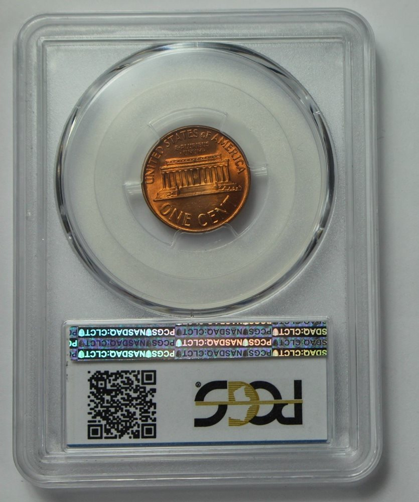 1962-P Lincoln Memorial Cent BU Unc PCGS MS66RD Red MS66