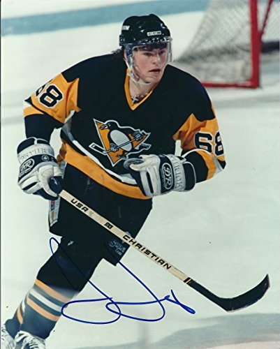 new product 31ade 58a02 Autographed Jaromir Jagr 8x10 Pittsburgh Penguins Photo