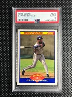 1989 Gary Sheffield Rookie Card 25 Score Young Ss