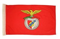"BENFICA PORTUGAL SOCCER TEAM 12"" X 18"" INCHES CAR STICK FLAG WITHOUT POLE..NEW"