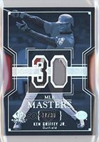 Ken Griffey Jr. #18/30 (Baseball Card) 2004 SP Game Used Patch MLB Masters #MM-KG