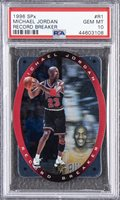 1996/97 SPx Record Breaker #R1 Michael Jordan - PSA GEM MT 10