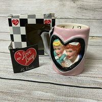 I Love Lucy With Ethel Friends Mug ORIGINAL Box