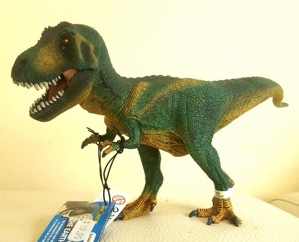 Schleich T-Rex and Velociraptor Small Boxed Set 42216 Dinosaur Toys