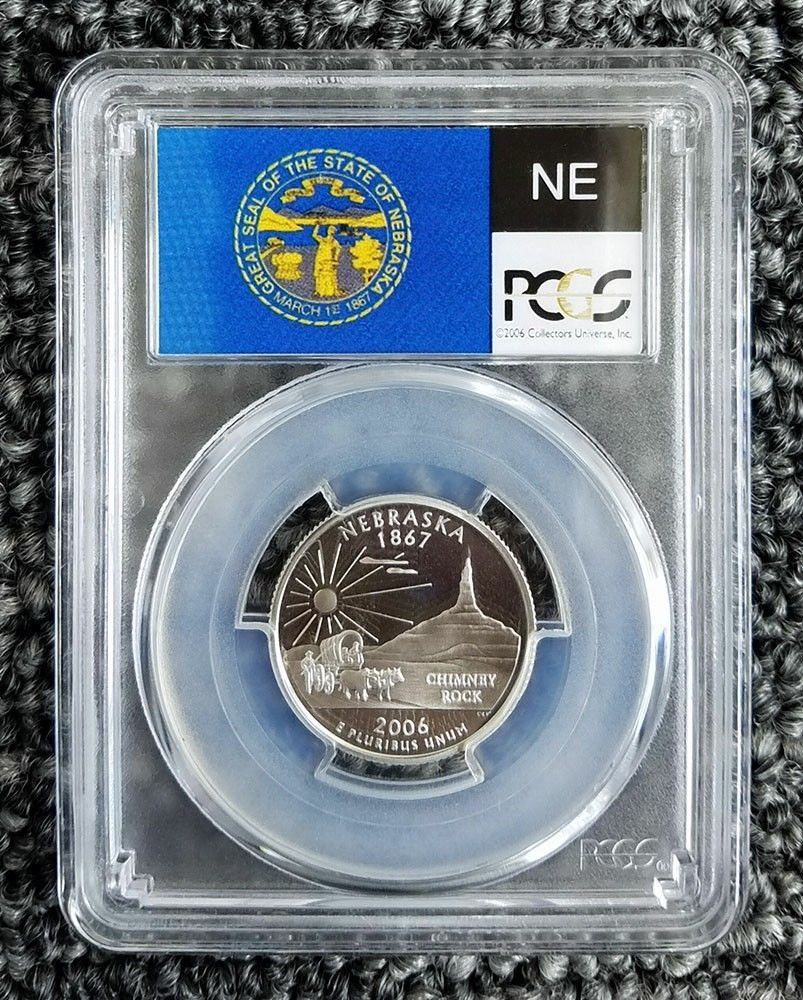 2006 S Clad State Quarter Set PCGS PR69DCAM
