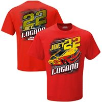 Joey Logano # 22 2020 Red Camber T-shirt, Large