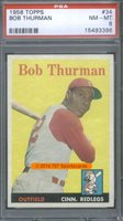 1958 Topps 34 Bob Thurman PSA 8 - $150.00