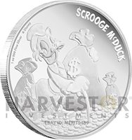 2015 Disney-Season/'s Greetings Classic 2015 1oz Silver Proof Coin RRP $120.00