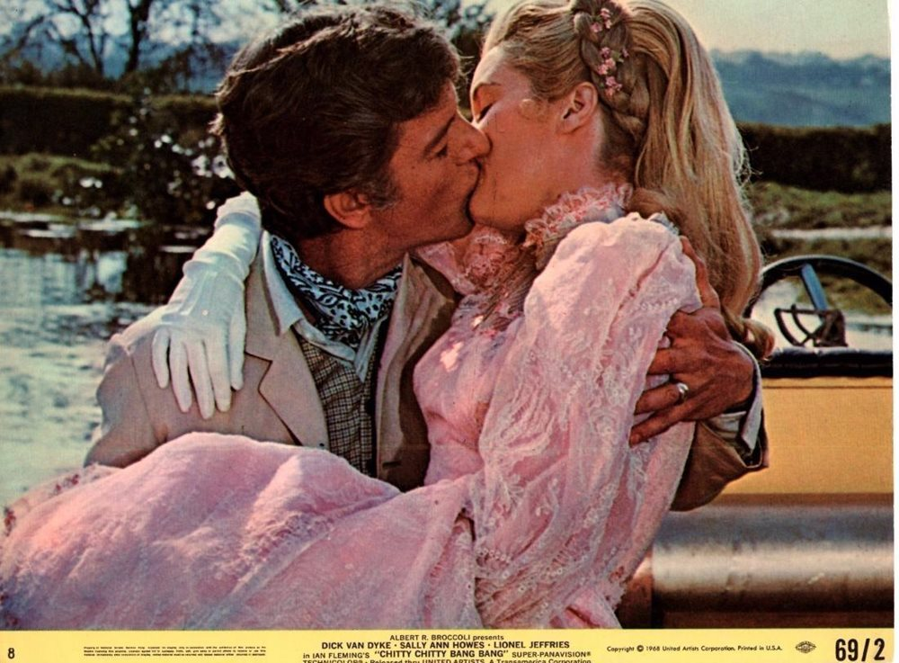 Image result for chitty chitty bang bang kiss