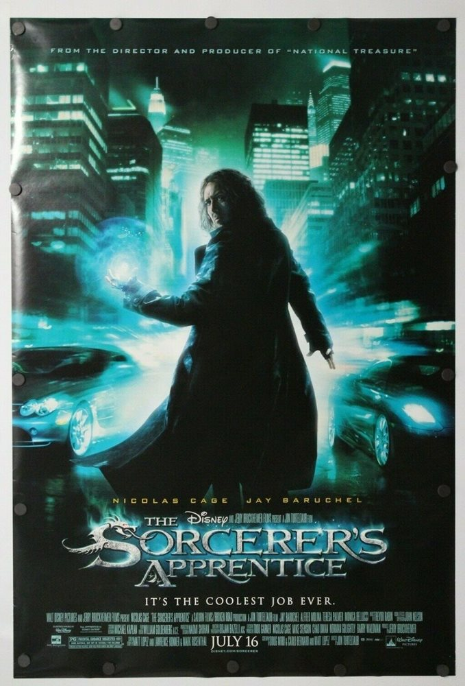The Sorcerer S Apprentice 2010 Double Sided Original Mo
