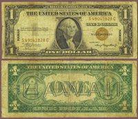 """1935-A $1.00 FR-2300 """"Hawaii"""""""