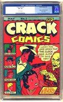 CRACK COMICS #1 1940, Lou Fine and Paul Gustavson Art; Origin & 1st appearance of Black Condor