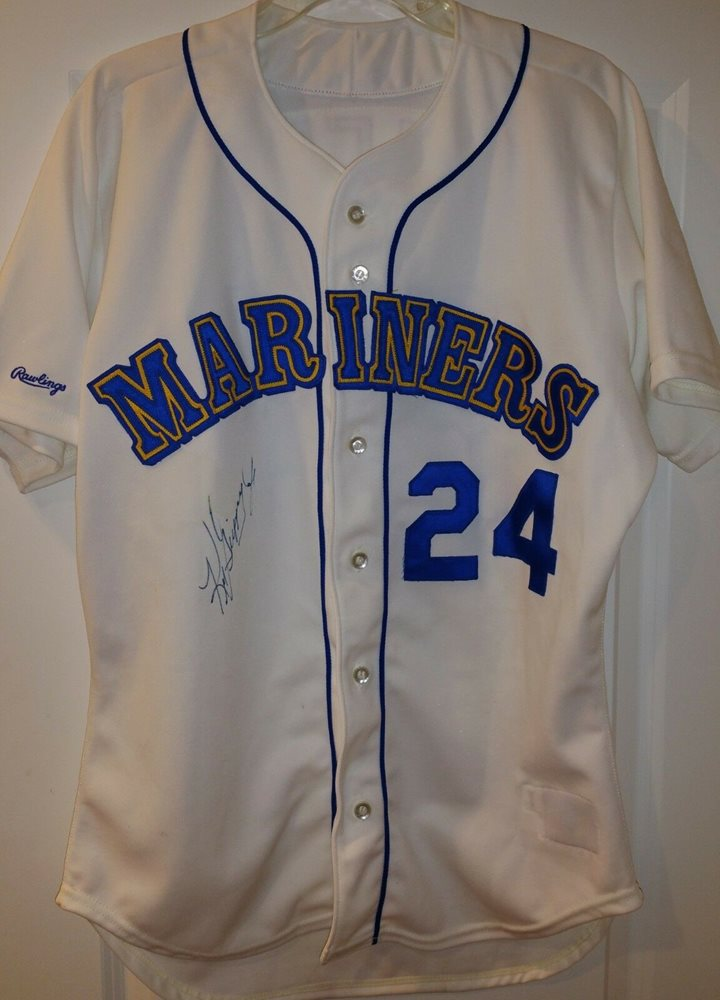 new product 3d42b 1a5d4 Ken Griffey Jr signed auto PSA/DNA Mariners authentic jersey HOF autographed