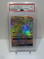 MACHAMP GX 154//147 Burning Shadows Holo Full Art Secret Rare Pokemon Card