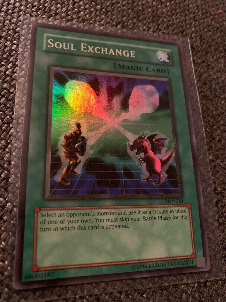 SDBE-EN030 Soul Exchange 1st Edition Mint YuGiOh Card