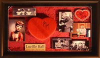 Lucille Ball I Love Lucy Heart