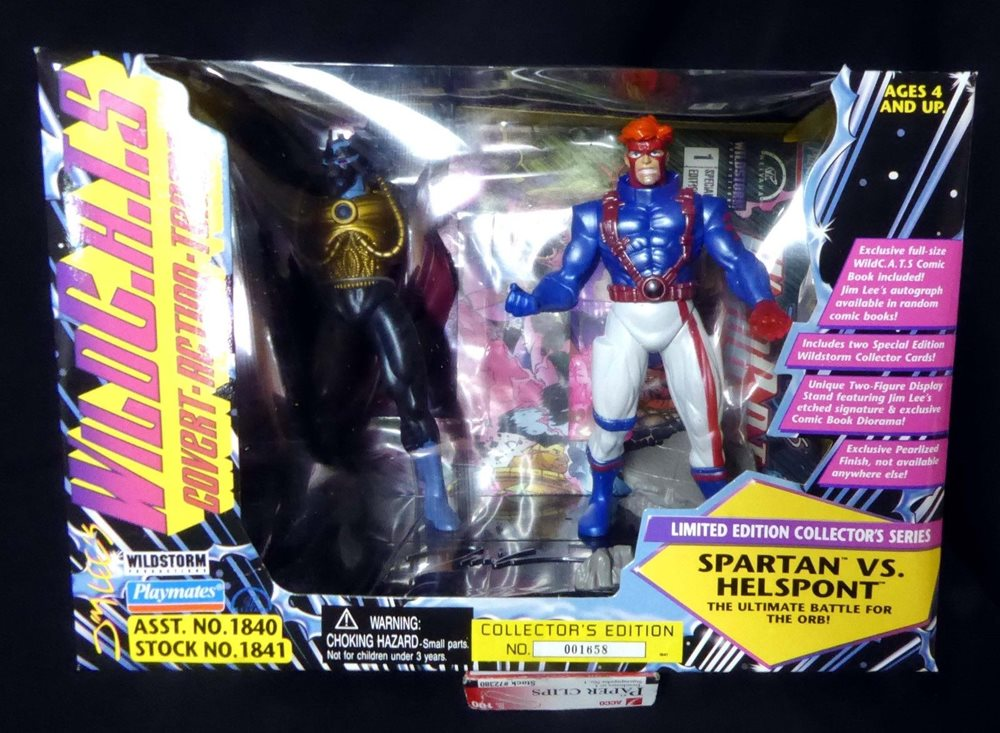 Wildcats Spartan VS Helspont Jim Lee Collector/'s Edition New 1995 Sealed