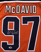 quality design 5a8e6 f15f5 Connor Mcdavid #97 Edmonton Oilers Autographed Signed Hockey Fanatics  Jersey PSA/DNACUSTOM FRAME YOUR JERSEY