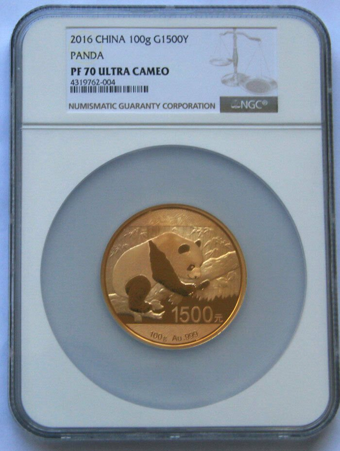 China 2016 HSNA Bamboo Panda Hawaii Coin Expo 3pc Gold /& Silver NGC PF70 Set ER
