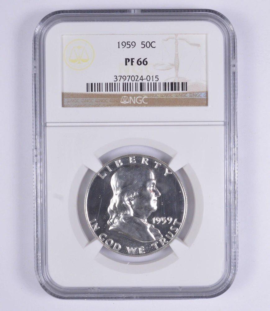 1959 U.S Mint Silver Proof Set  PCGS all graded PF66