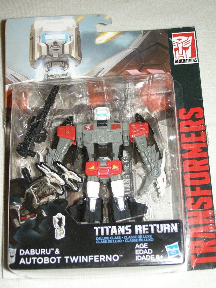 Transformers Generations Titans Return Autobot Twinferno /& Daburu New MOSC