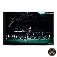 Signed Lionel Messi Photograph - Limited Edition Colors of the Game UDA - Autographed Soccer Photos