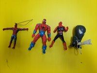 Marvel Spider-Man Figures LOT OF 4 (FC40-T-KO-68)
