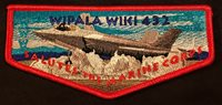WIPALA WIKI OA LODGE 432 BSA GRAND CANYON SALUTES USMC US MARINE CORPS FLAP