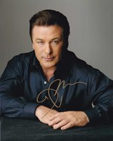 Alec Baldwin In Person Autographed Photo Great Color Ph