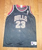 e614d5794ae Vtg 90s Champion Chicago Bulls Michael Jordan  23 Jersey NBA - Youth XL 18-