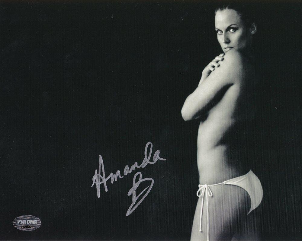 Amanda Beard Playboy amanda beard olympics playboy model signed 8x10 photo psa/dna authenticated  hot!