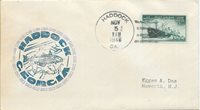 US 1946 Haddock, Georgia Cover with Matching Cachet