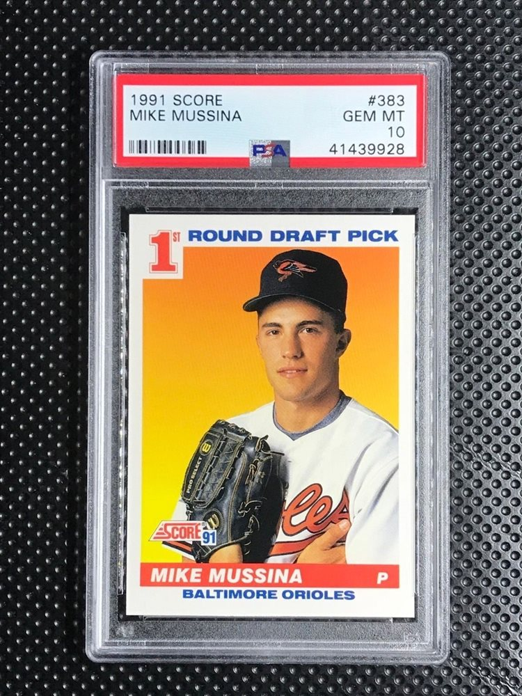 Ebay Auction Item 333018336318 Baseball Cards 1991 Score