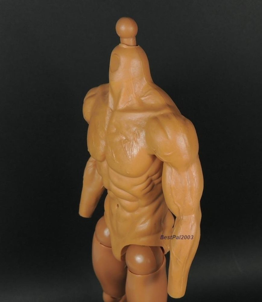 16 Scale Muscular Body W Feet From Hot Toys Sdu 30 1