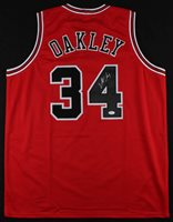 finest selection 2cdac c73fd Charles Oakley Signed Chicago Bulls