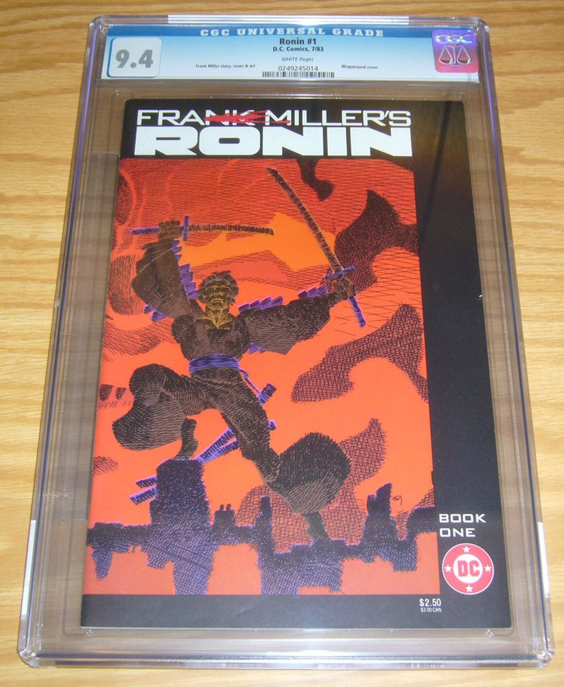 FRANK MILLERS RONIN  1983 #1 COMIC BOOK NM