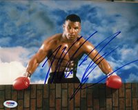 Mike Tyson Boxing Autographed Signed 8x10 Photo Certified Authentic PSA/DNA