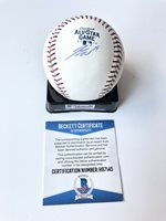 Tommy La Stella Signed Autographed 2019 All Star Baseball Ball Los Angeles Angel