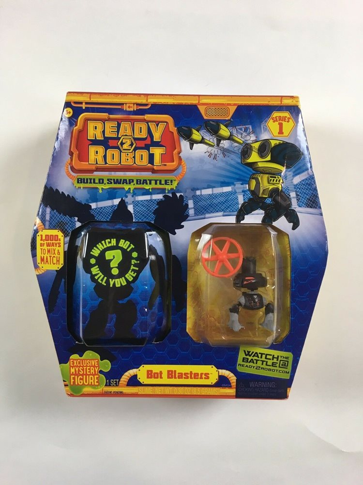 Ready 2 Robot Action Figure Mongo Mystery Bot Included!