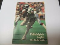 1984 NFL FOOTBALL MEDIA GUIDE PHILADELPHIA EAGLES VERY RARE AND IN OK CONDITION