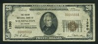 Fr No.1802-1 $20 Delaware 1929 1390 Wilmington VF