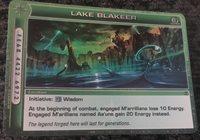 Chaotic Card Illusionary lake